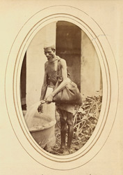 Bhisti (water carrier).